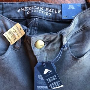 NWT American Eagle  sz 00 grey jegging Jeans